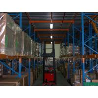 Industrial Heavy Duty Pallet Rack Spray Painting with Mezzanine Floors Stock