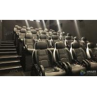 China Glittering Adventure Motion Electric Mobile 5D Cinema With Fiber Glass Material factory