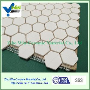 China Mining and mineral processing alumina ceramic mosaic inner lining sheet factory