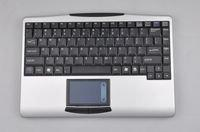 China Slim 2.4G RF Wireless Keyboard with Touchpad K9 on sale