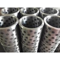 China Steel(FC250&HT250&45#) bushing with solid lubricant graphite FGB standard misumi bushing factory