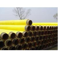 Buy cheap Yellow Jacket Thermal Insulation PU Foamed Insulated Steel Pipe For Water / Petroleum Pipeline from Wholesalers