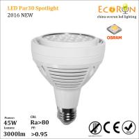Buy cheap 70w metal halid lamp replaced ra80 osram led par30 45w spotlight warm white from Wholesalers