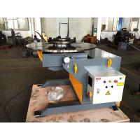 Buy cheap 600kg Pipe Welding Positioners with Foot Pedal Control 1.1 KW Tilting Power from wholesalers