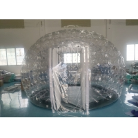Buy cheap PVC Airtight Igloo Transparent Inflatable Dome Tent With Led Light from wholesalers