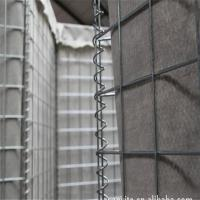 Buy cheap Galvanized Hesco Gabion Cage Retaining Wall Welded Hesco Flood Barriers for Sale/Military Sand Wall Hesco Barrier from Wholesalers