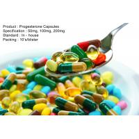 Buy cheap Natural Progesterone Capsules 100Mg 200Mg Steroid Based Hormones from Wholesalers