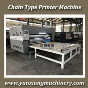 Buy cheap Chain Type Flexo Printer Slotter Machine from Wholesalers