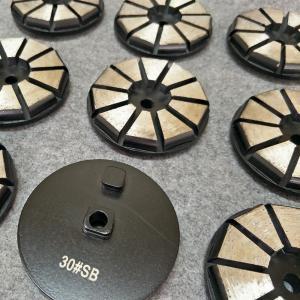 China 3 Inch 10 Segments Concrete Diamond Grinding Pads for STI Diamond Tools factory