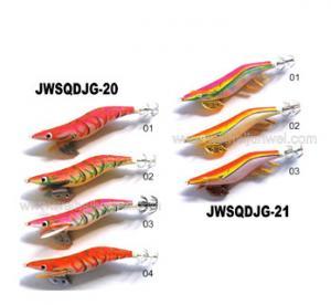 2015 New design best sale squid jig fishing lure JWSQDJG-20/21