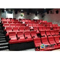 China Customized Shopping Mall 4D Movie Theater With Ring Screen / Flat Screen factory