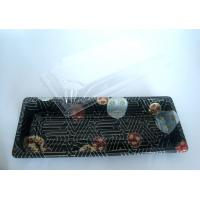 Buy cheap Disposable Salad Bowl Printing Ps Sushi Tray With Lid L140 × W80 × H50mm from Wholesalers