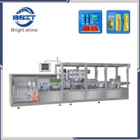 China oral liquid/drink plastic bottle forming and filing and sealing machine factory