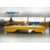 Buy cheap 20 ton cable drum powered steerable dies rail transfer carts from Wholesalers