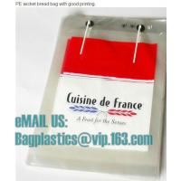 China Micro-perforated Gusseted French Bread, PP bread bags, micro, bread bags, Cpp bags, opp factory