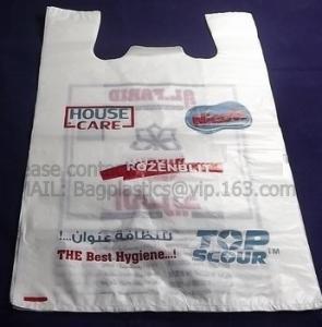 China Tesco carrier, t shirt bag, rubbish bags, handy bags, handle bags, shopper, LDPE, HDPE, MD factory