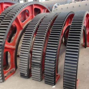 China rod Mill Girth Gear and ball mill girth gear and sag mill girth gear for sale factory