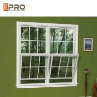 Buy cheap Air Proof Horizontal Sash Window , Grill Design Aluminum Double Hung Windows from Wholesalers