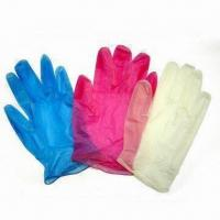 Buy cheap Disposable PVC Gloves, Suitable for Medical Use, Measures S, M, L and XL from wholesalers