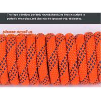 China 6mm accessory cord climbing rope nylon 66, high strength fire escape safety climbing rope factory