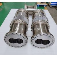 Buy cheap Stainless Steel Material Extruder Machine Parts Food Barrel Long Using Life from Wholesalers