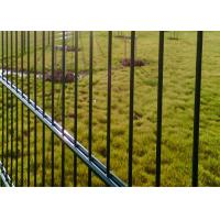China 545mm Double Wire Mesh Fence / Powder Coated Wire Mesh Garden Fence Panels on sale