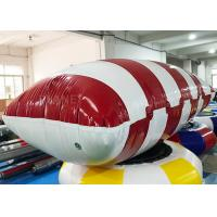 China Funny Customized Inflatable Water Catapult Blob Jumping Pillow For Lake factory