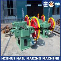 Buy cheap China high speed 1-6 inch wire nail manufacturing machine with good production from wholesalers