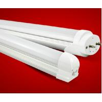China Integrated T5 T8 led tube with half Aluminum housing half PC cover both ended input 900mm factory