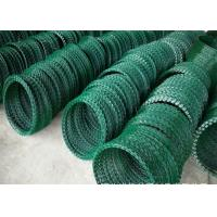 Buy cheap Concertina Razor Barbed Wire , Hot Dipped Galvanized Razor Wire 2.5mm Diameter from Wholesalers