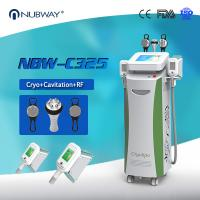 Buy cheap Powerful Cryolipolysis Machine / Ultrasonic Liposuction Cryolipolysis Fat Freezing Machine from Wholesalers