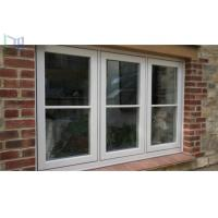 Buy cheap Double Tempered Glass French Aluminium Casement Windows for Commercial Building from Wholesalers