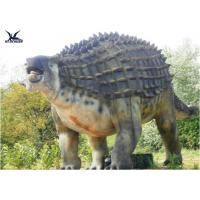 Buy cheap Animatronic Outdoor Dinosaur Statues , Dinosaur Yard Decorations With Infrared Ray Sensor from Wholesalers
