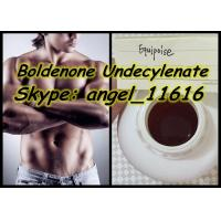 Buy cheap Equipoise Boldenone Steroid Yellowish Liquid Boldenone Undecylenate 300MG / ML from wholesalers