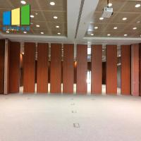 China Demountable Sliding Fire Rated Acoustic Movable Partition Walls For Exhibition Hall on sale