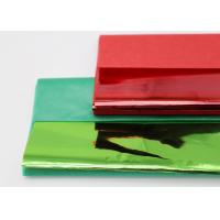 China Christmas Coloured Wax Paper Sheets Single Side Good Air Permeability factory