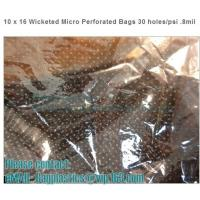 China CPP perforation bags, Wicketed Micro Perforated bags, Bakery bags, Bopp bags, Bread bags factory