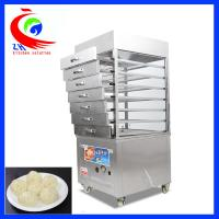 China Commercial gas steamed buns steamer pastry steaming machine factory