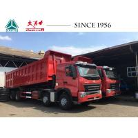 Buy cheap A7 8X4 HOWO Dump Truck 30 CBM 420 HP Euro 4 Flat Roof For Quarry Philippines from wholesalers