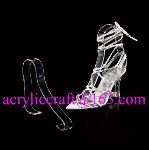 China Acrylic shoe display rack holder on sale