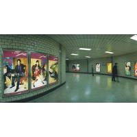 Buy cheap 100-175mic Light Box Poster Printing In Bus Stop Advertising from Wholesalers