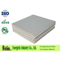 China Glass Filled PTFE Molded Sheet Of Natural White Plate on sale