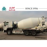 Buy cheap Modern Structure HOWO Concrete Mixer Truck 10 CBM 400 L Fuel Tank With Motor from wholesalers