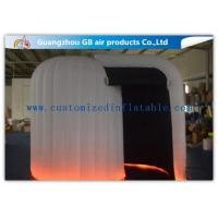 China Commercial Giant Snail Inflatable Photo Booth Rental with Led Lighting factory