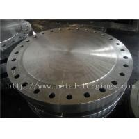 China P355QH EN10273 Carbon Steel Forged Disc  Pressure Vessel Blank Flange factory