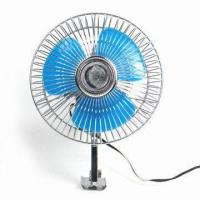 China 6-inch Car Fan with Screw Mounting and 2-speed Switch factory