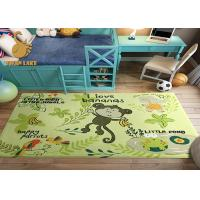 Buy cheap Corrosion Resistant Purple Non Slip Door Mat / Bathroom Area Rugs from Wholesalers