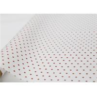 China Polka Dot Holiday Tissue Paper , Gift Wrapping Dotted Tissue Paper factory