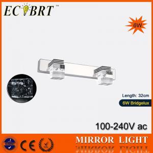 China ECOBRT*#5720 6W Bathroom Mirror Light Crystal Wall lights Light led 320mm long 110 / 220v on sale