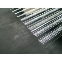 China Customized Clear Corrugated Polycarbonate Roof Panel Bayer / GE Material factory